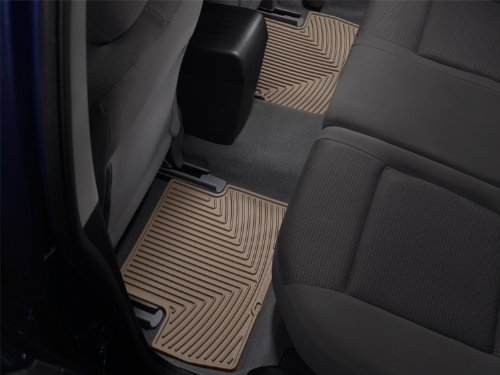 WeatherTech All-Weather Trim to Fit Rear Rubber Mats (Tan) (Weathertech Navigator Lincoln 2005)