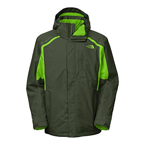 The North Face Vortex Triclimate Jacket Mens Dark Cedar Green/Power Green S