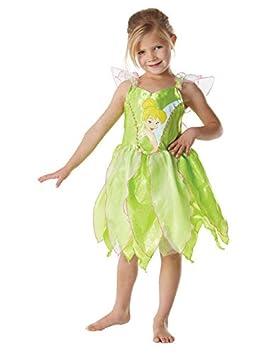 Hada Campanilla Disney Disfraz Para Niños Color Verde