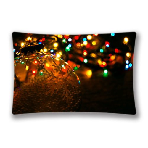 20x36inch Pillow Protector Giant Christmas Tree In Moscow Pillow Cover Home Decorative Kids Gift Pillow Cushion Cover(Twin Sides)