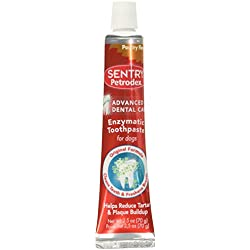 Petrodex Enzymatic Toothpaste for Dogs - Poultry Flavor, 2.5-Ounce, 2 Pack