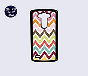 LG G3 Case - Multi Colorful Chevron iPhone Cover