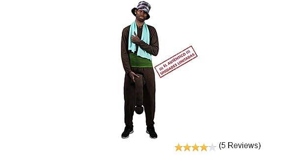 Disfraz del Negro del Whatsapp: Amazon.es: Juguetes y juegos