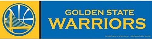 WinCraft NBA Golden State Warriors WCR13311613 Bumper Strip, 3