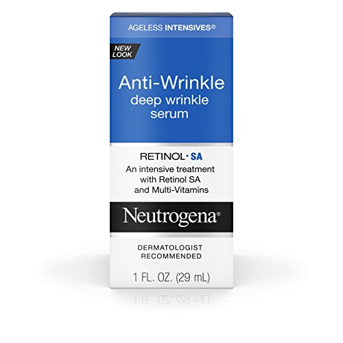 Neutrogena Ageless Intensives Anti-Wrinkle Deep Wrinkle Serum Treatment With Retinol 1 Fl. Oz. - Intensive Anti Wrinkle Eye