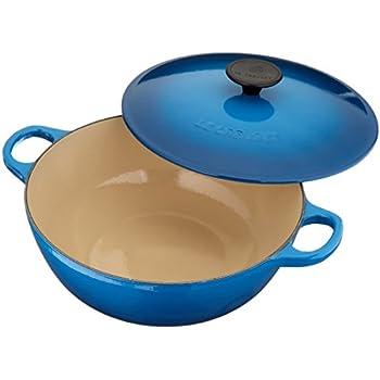 le creuset soup pot. Le Creuset Enameled Cast-Iron 3 1/4 Quart Chefs Oven, Marseille Soup Pot R