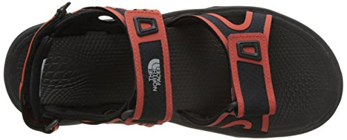 The North Face Herren Hedgehog II Knöchelriemchen Sandalen Mehrfarbig (Tnf Black/tibetan Orange)