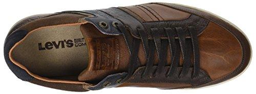 Sneaker Herren Braun Beyers Weiß Medium Levi's Brown qFUwEvq