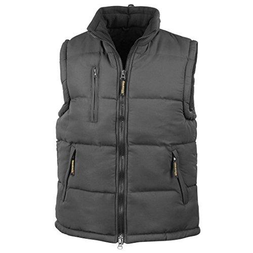 Top Black Polyester Gilet Adult Ultra Result Showerproof Coat Padded Bodywarmer New gcYzpwvqc