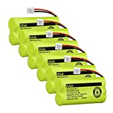 iMah BT18433 BT28433 Cordless Phone Battery Pack Compatible with VTech BT184342 BT284342 BT-1011 BT-1018 BT-1022 BT-1031 CS6219 CS6229 DS6301 DS6151 DS6101 Home Handset Telephone (Pack of 6)