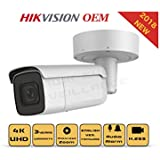 4K PoE Security IP Camera - Compatible as Hikvision DS-2CD2685FWD-IZS UltraHD 8MP Vari-Focal EXIR Bullet Onvif Weatherproof 2.8-12mm Motorized Lens Best Home Business Security 3 Year Warranty