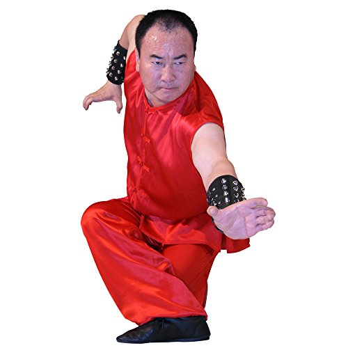 Tiger Claw Kung Fu (Kungfu) Uniform Red Silk Southern Style - Small