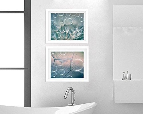 Home Kitchen Teal Bathroom Decor Dandelion And Soap Bubbles Photographic Print Set Of 2 Photos 5x7 Modern Bathroom Art 15 Off Discount 11x14 12x16 Cottage Bathroom Set 8x10 10x13 9x12 Handmade