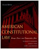 American Constitutional Law, Donald P. Kommers and John E. Finn, 0742526887