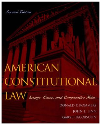 American Constitutional Law: Governmental Powers and Democracy (Volume 1)
