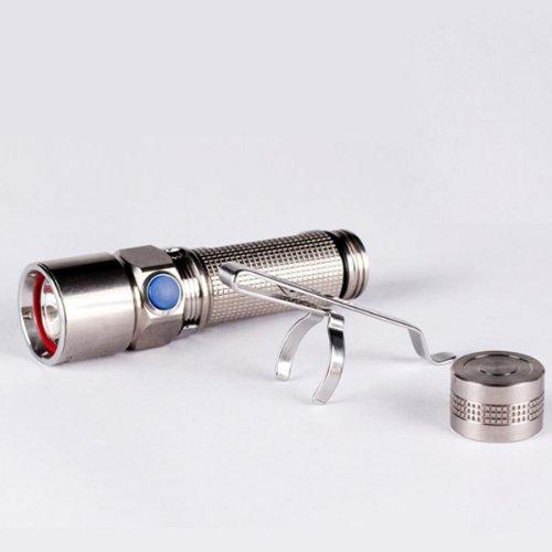 Olight S15 CREE XM-L2 TI 260 Lumen white light LED Flashlight (Polishing version)