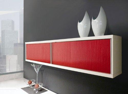 Revestimiento mural autoadhesivo con ranuras verticales WallFace 15770 TOUCH XS efecto lacado color blanco 2,60 m2: Amazon.es: Bricolaje y herramientas