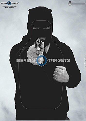 Realistische Mann-Schieß-Zielscheiben. CQB Airsoft Gewehr. Mannscheibe. Shooting Targets (59,4 x 84,1 cm) ( 50 Stück )