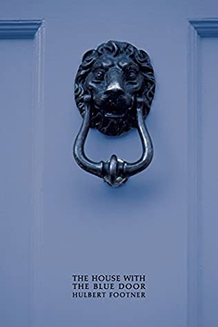 book cover of The House with the Blue Door