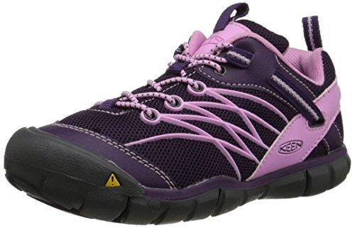Keen Chandler CNX - Zapatos de Low Rise Senderismo Unisex Niños Morado - Violett (Purple Penant/Lilac Chiff)