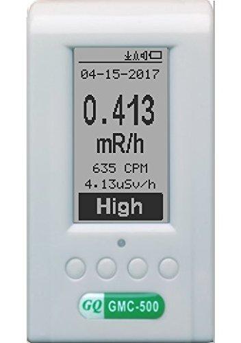 GQ GMC-500+ (Plus) Geiger Counter Nuclear Radiation Detector Monitor Beta Gamma X-Ray Dosimeter