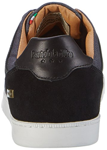 Pantofola d'Oro Comacchio Canvas Uomo Low, Men's Slippers Schwarz (Black)