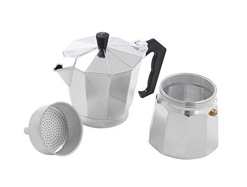 Italian Coffee Maker Reviews : VonShef 6 Cup Italian Espresso Coffee Maker Stove Top Macchinetta - Buy Online in UAE ...