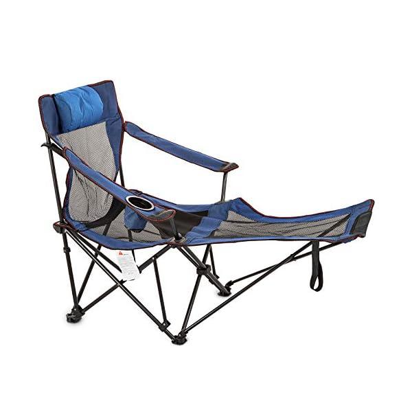 Lega di Alluminio 7075 per Campeggio Parco Spiaggia BBQ GuoCu Sedia da Campeggio,Sedia da Pesce Pieghevole Portatile Sedia da Campeggio Picnic Carico 100KG Tessuto in Oxford 600D