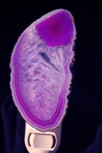 Purple Agate Nightlight ()