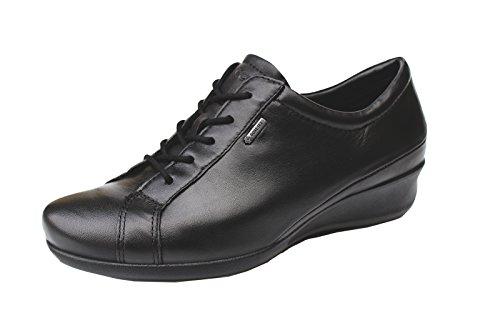 ECCO Ecco Abelone Lace Up Gore-Tex - Zapatos de cordones de cuero para mujer negro