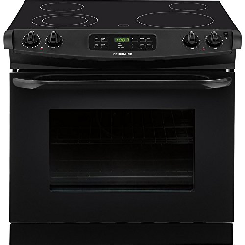 "Frigidaire FFED3025PB30"" Black Electric Drop-In Smoothtop"