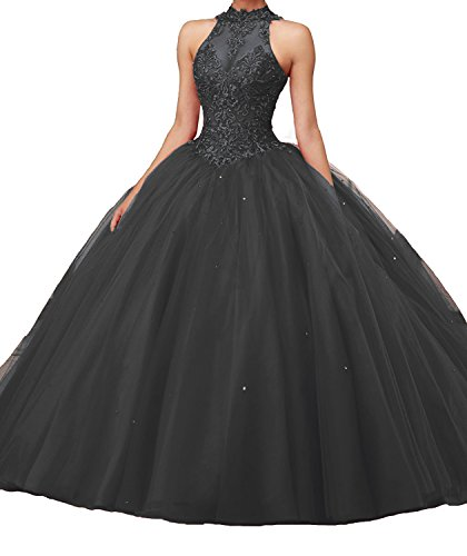 long black puffy dresses - 7