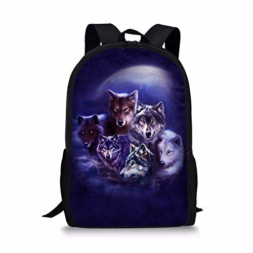 Sannovo 16 inch School Backpack Laptop Back Pack for Women Men Teen Girls Boys by Sannovo