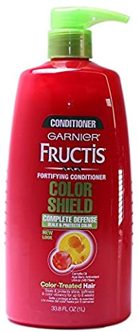 Garnier Hair Care Fructis Color Shield Conditioner, 33.8 Fluid Ounce - Hydra Intense Hydrating Gel Mask
