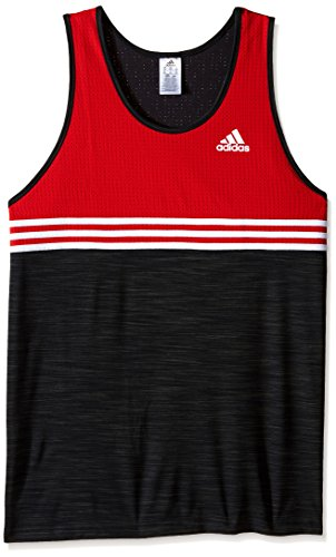 6f4df5cf2249a2 adidas Men s Basketball Double Up Tank Top - Import It All