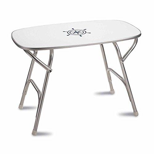 - FORMA MARINE Dinner Deck Table 20' x 35' x 27'5, Boat Table, Folding, Rectangular, Anodized, Aluminium, Model M250H