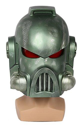 Space Marine Costume (Space Marine Helmet Mask Cosplay Props for Adult Halloween Costume)