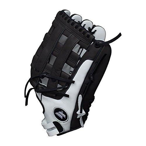 - Worth Legit Slowpitch Softball Glove, 13 inch, Pro H Web, Right Hand Throw