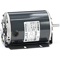 Marathon D162 48Y Frame Open Drip Proof 48S17D2087 Belt Drive Motor, 1/2 hp, 1725 rpm, 115 VAC, 1 Split Phase, 1 Speed, Ball Bearing, Resilient Ring Mount