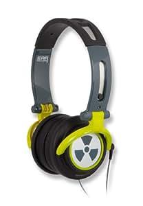 Ifrogz Earpollution CS40 Comfort Series - Auriculares de diadema abiertos, plateado
