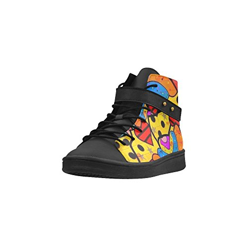 Womens By Sneakers Toe D Popart Nico Bielow High Round Shoes Skurill Top Story U8qP86