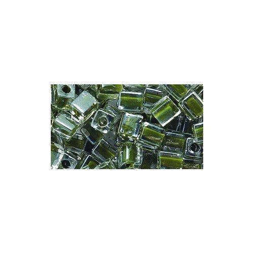 Dark Green Miyuki Cube - 5