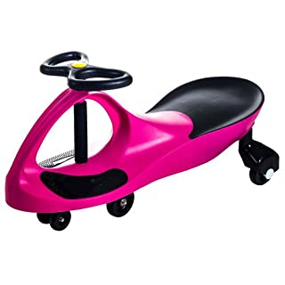 Ride on Toy, Ride on Wiggle Car by Lil' Rider - Ride on Toys for Boys and Girls, 2 Year Old And Up - Hot Pink
