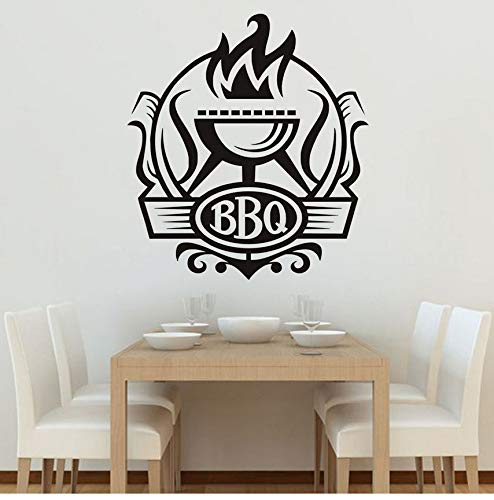 zhangsh Cuisine BBQ Badge DIY Etiqueta de La Pared Cocina ...