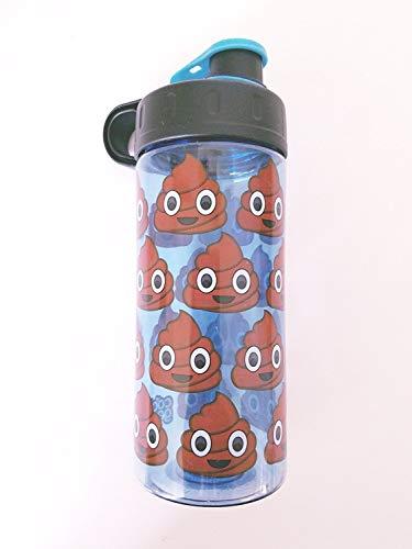 POOP EMOJI BPA FREE Water Bottle 16 Oz USA Seller Emoji Movie