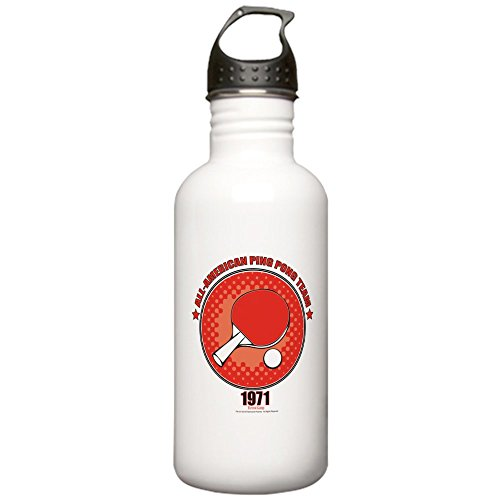 CafePress - Forrest Gump Ping Pong Stainless Water Bottle 1 - Stainless Steel Water Bottle, 1.0L Sports Bottle by CafePress