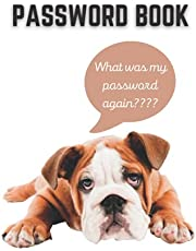 Password Book Dog Password Log | Internet Password Organizer | Alphabetical Password Tracker:: Personal Internet Log Book | Protect and Keep Track of All Your Website Passwords In One Secure Convenient Place