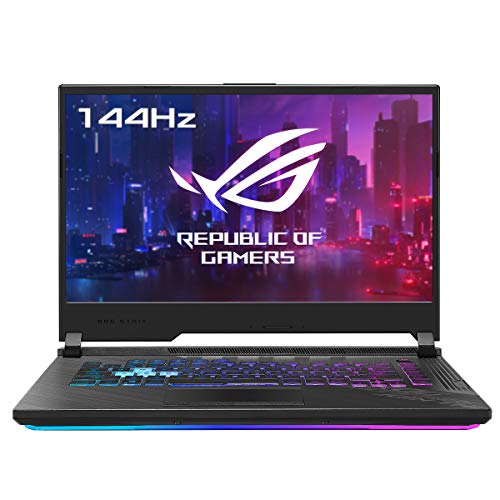 "ASUS ROG Strix G15 G512LW-HN149 – Portátil Gaming de 15.6 "" FullHD 144Hz (Intel Core i7-10875H, 32GB RAM, 1TB SSD, NVIDIA RTX2070-8GB, Sin Sistema Operativo) Negro Original – Teclado QWERTY español"