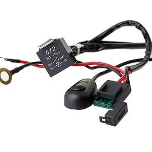 40 amp off road atv jeep led light bar wiring. Black Bedroom Furniture Sets. Home Design Ideas