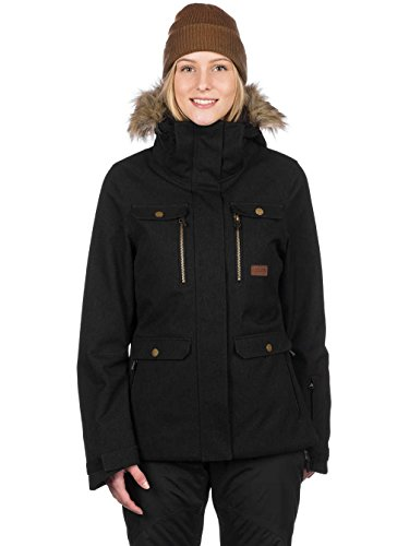 Noir Manteau Chic Fancy Chic Manteau UIUxa6